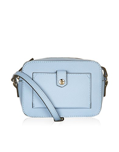 Accessorize Womens Mini Camera Across Body Bag Size One Size Blue