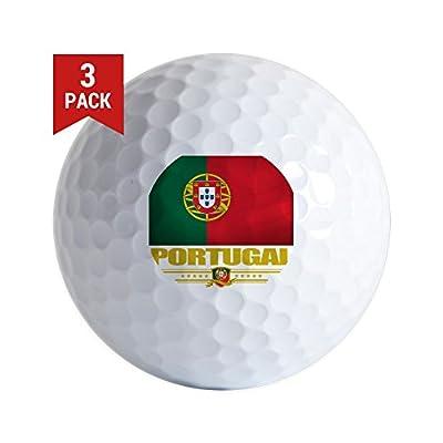 CafePress - Portugal (Flag 10) - Golf Balls (3-Pack), Unique Printed Golf Balls