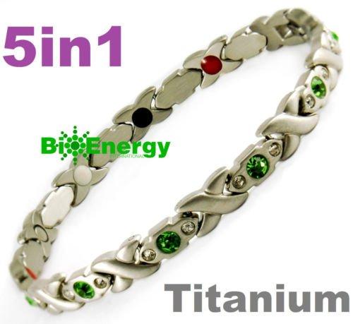 Magnetic Energy Germanium Armband Bracelet