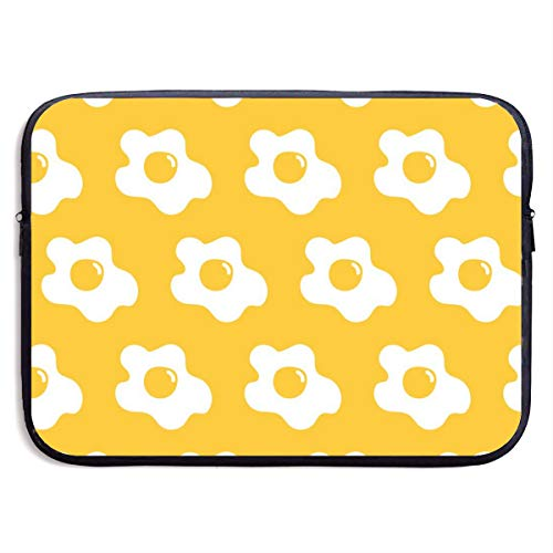 Waterproof Laptop Sleeve 13 Inch, Egg Fried Yellow Business Briefcase Protective Bag, Computer Case Cover for MacBook Pro, MacBook Air, Asus, Samsung, Sony, ()