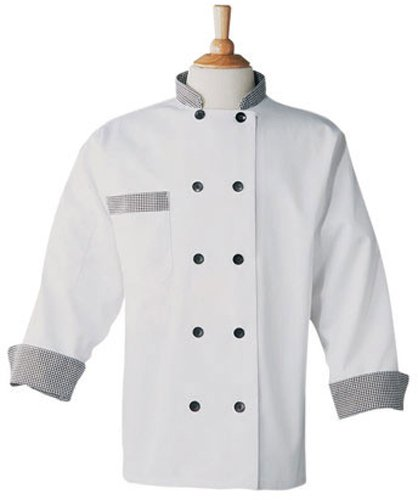 Phoenix Chef's Coat with Check Trim, X-Large by Phoenix