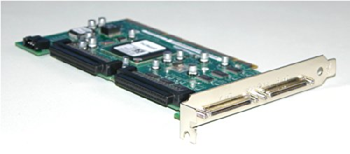 Genuine Dell Adaptec ASC-39320A GC401 FP874 Ultra320 SCSI/LVD Dual PCI-X 320MBps RAID Controller Card Compatible Part Numbers: RT372, F9685, FP874, GC401 Compatible Model Numbers: ASC-39320A (Dell Scsi)