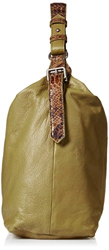 Shoulder Green Women's Bag Berlin Anuk Camouflage Back Snake Liebeskind Leather FH7Owqn