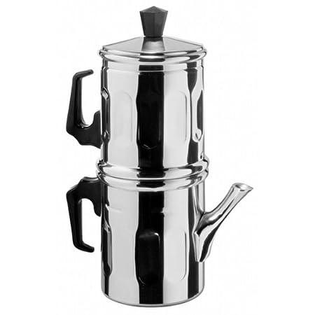 Ilsa 0006 012 Napoletana cafetera italiana Espresso aluminio ...