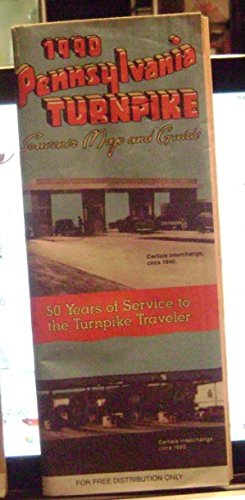 Pennsylvania Turnpike Souvenir Roadmap & Guide