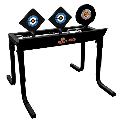 Do-All Outdoors - Black Back Auto Resetting Steel Target, Rated for 9mm - 30-06 Caliber by Do-All Outdoors