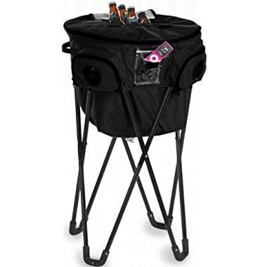 Insulated Cooladio Music Picnic Tub Cooler Color: Black