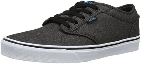 Vans Mens Atwood (Textile) Black/Hawaiin Ocean Skate Shoe 11 Men US