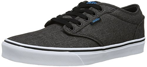 Vans Mens Atwood (Textile) Black/Hawaiin Ocean Skate Shoe 10.5 Men US