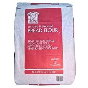 Amazon.com : Bakers & Chefs Bread Flour - 25 lb. bag (pack