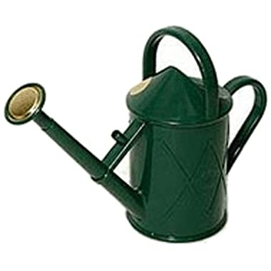 Haws V130GR Heritage Indoor Plastic Watering Can, 0.25-Gallon/1-Liter, Green