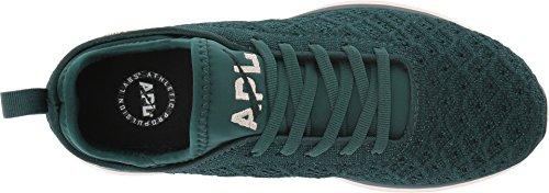 APL: Athletic Propulsion Labs Womens Techloom Phantom Running Shoe Deep Emerald/Opaque Peach FouL2Ec7u