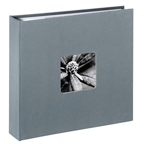 Hama Fine Art Gris - Álbum de fotografía (225 mm, 220 mm, Gris, 80 hojas, 100 x 150)