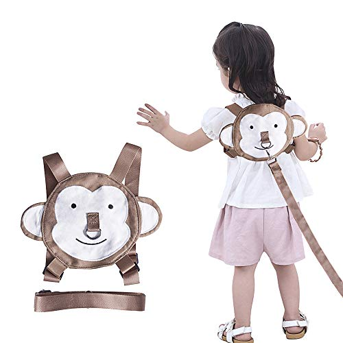 Toddler Harness Safety Leashes Monkey Walking Harness for Toddlers Age 1-3 Years Old