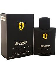 Ferrari Black Eau de Toilette Spray for Men, 4.2 Ounce