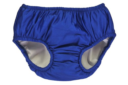 My Pool Pal Reusable Swim Diaper, Royal Blue, 24