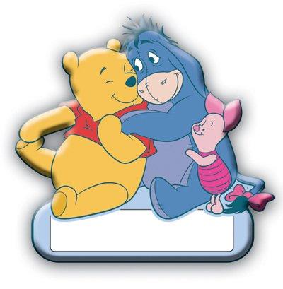 SandyLion Winnie Pooh Door Plate product image