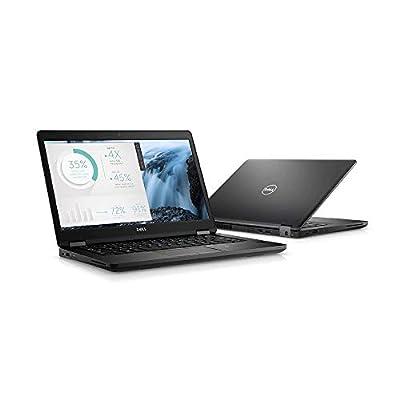 "Dell Latitude 5480 DYHJ1 Laptop (Windows 10 Pro, Intel Core i7-7600U, 14"" LED-Lit Screen, Storage: 256 GB, RAM: 8 GB) Black"