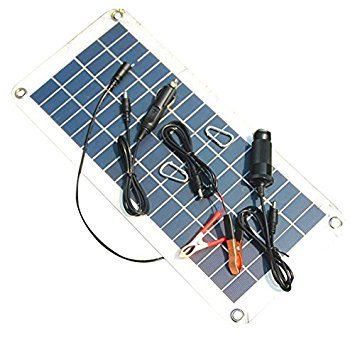 TOOGOO(R) Semi-flexible 18V/5V 10.5W Portable Solar Panel Charger For 12V Car Boat Motor Battery Charger DIY Solar System NEW by TOOGOO(R) (Image #3)