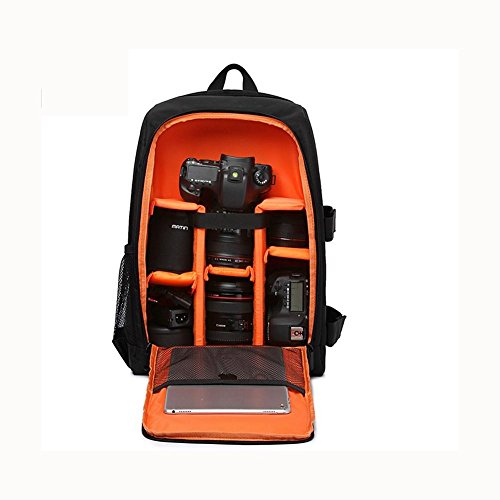 orange Backpack Photography Digital Photo Camara ZXJ Bag Multi Bags Photographer Waterproof for Camera Case functional DSLR 0daqqRnHZ