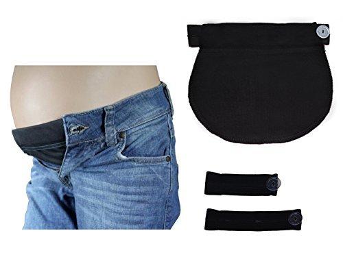 Lot de 3 ceintures d ajustement 1028 - bandeau de grossesse - pantalon et  jupe - Bleu  Amazon.fr  Vêtements et accessoires e99d386804f