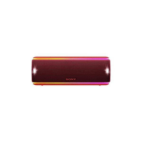 Sony SRS-XB31 Enceinte portable sans fil Bluetooth Waterproof avec effets lumière - Rouge 1