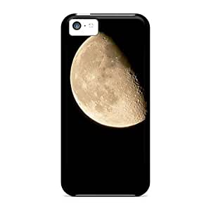 Awesome Case Cover/iphone 5c Defender Case Cover(moon)
