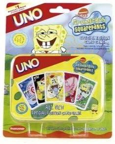 Uno Spongebob Squarepants Special Edition Mattel