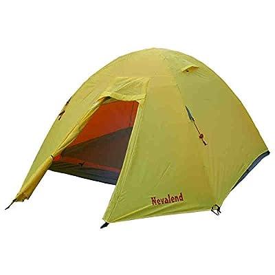 Outdoor Speed Ride Amber Gold 2-3 personnes Tente de camping d'alpinisme