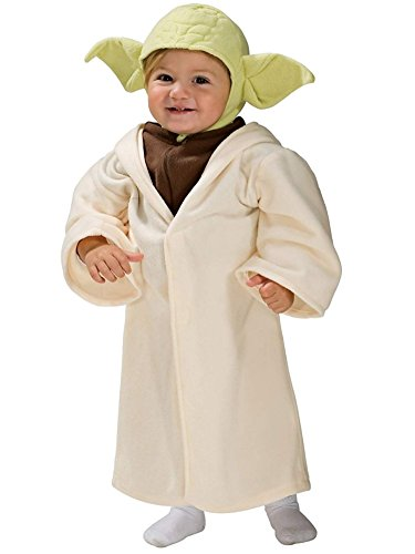 Star Wars Toddler Boys Yoda Costume Robe & Headpiece 3-4T