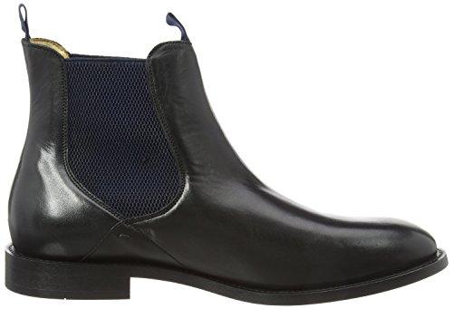 Hudson Herren Black Chelsea Boots Schwarz (nero)