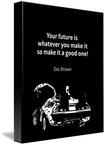 Amazoncom Wall Art Print Entitled Back To The Future Doc Brown