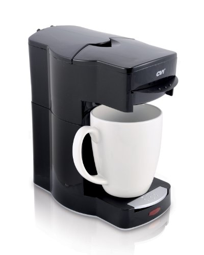Café Valet Black Single Serve Coffee Brewer, Exclusively for use with Café Valet Coffee Packs