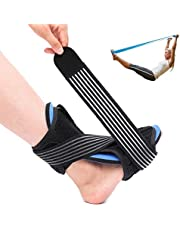 OUTERDO Plantar Fasciitis Night Splint Brace - Adjustable Dorsal Night Splint Foot Drop Orthotic Brace for Both Feet, Effective Relief from Plantar Fasciitis Pain, Foot Back Sprain and Strain