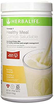 New Flavor Healthy Meal Nutritional Shake Mix - Banana Caramel 26.4oz