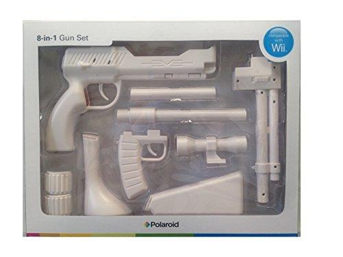 (Polaroid Wii Zapper 8-in-1 Gun Set - White)