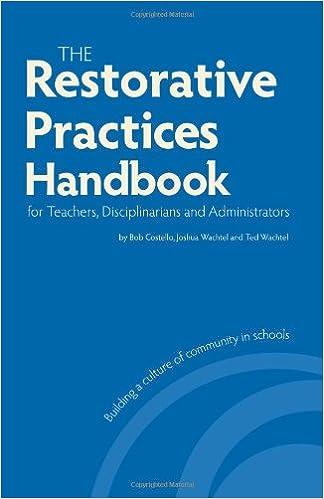 Handbook of Restorative Justice