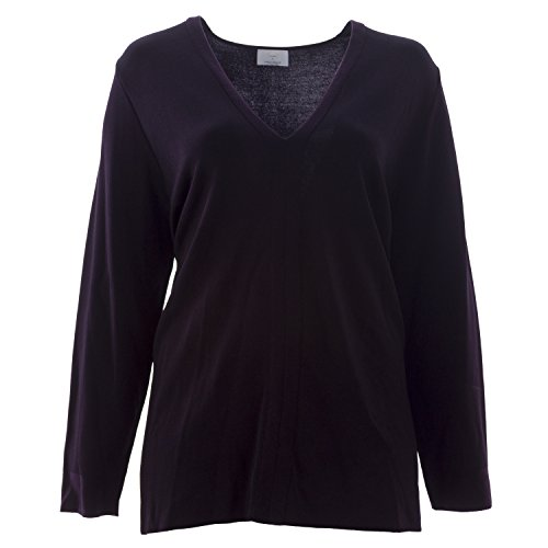 marina-rinaldi-womens-arbusto-v-neck-sweater-xx-large-eggplant