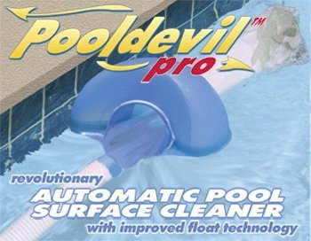 Pooldevil Pro Automatic Pool Surface Cleaner