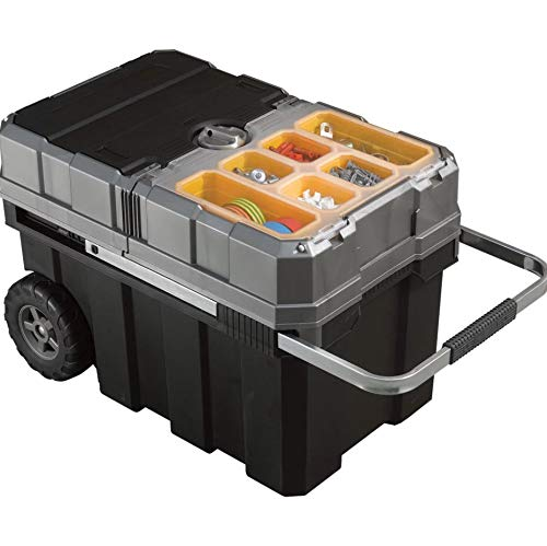 Keter 24in. Sliding Tool Chest, Model Number 17191709 (Chest Tool Mobile Craftsman)