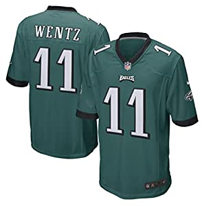 Carson Wentz Philadelphia Eagles Youth Nike Green Game Jersey (Youth Sizes)
