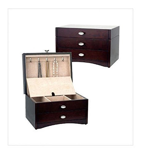 Reed & Barton Avery Jewelry Chest with Draw