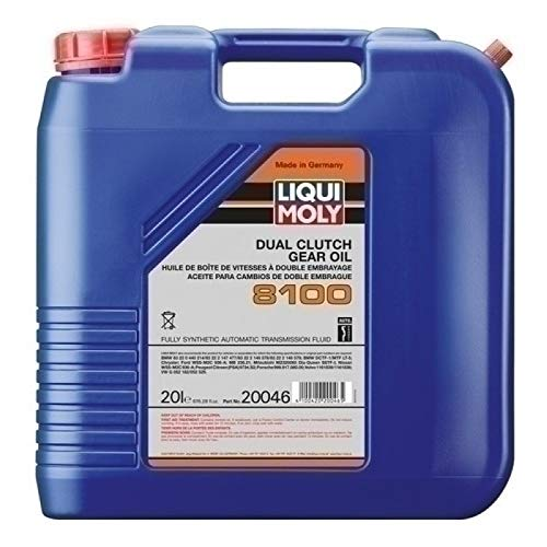 Amazon.com: Liqui Moly Dual Clutch 8100 Transmission Oil 20 Liter 20046: Automotive