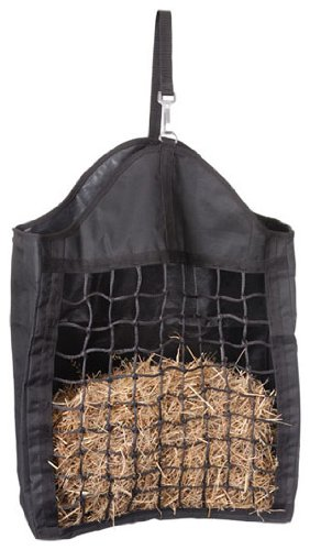 Tough 1 Nylon Hay Tote with Web Front Hunter Green