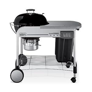 weber 1421001 performer charcoal grill black patio lawn garden. Black Bedroom Furniture Sets. Home Design Ideas