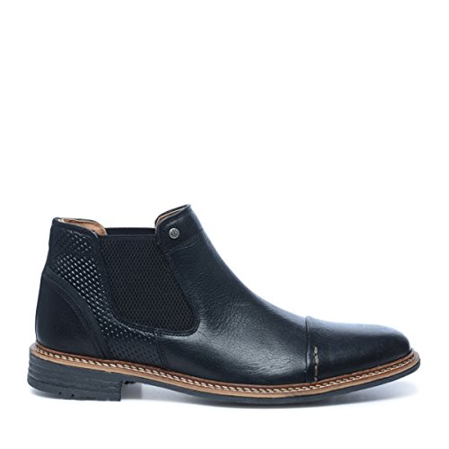 Sacha Herren Chelsea Boots Schwarz