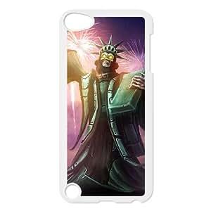 iPod Touch 5 Case White League of legends Karthus Custom KHJSDFUJF1911