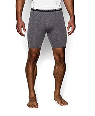 Under Armour Men's HeatGear Armour Compression Shorts - Mid