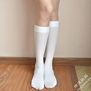 Lady socks Tuttavia Ginocchio in Calzini e Calze Studenti gonne College Calze di Vento