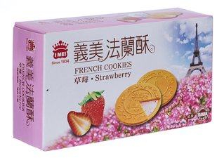 I Mel French Cookies Strawberry Flavor- Box